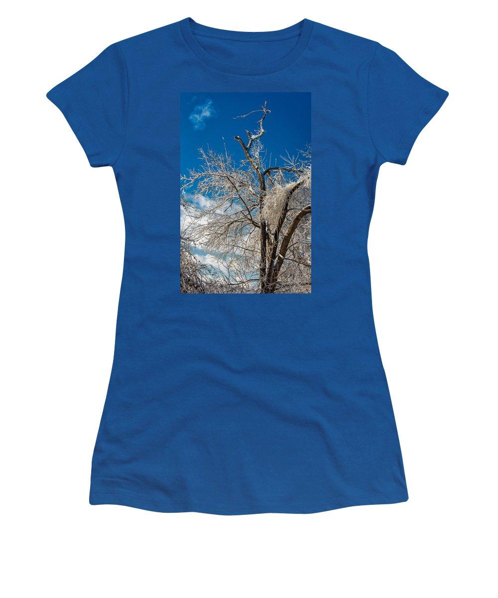 Steve Harrington Women's T-Shirt featuring the photograph Survivor by Steve Harrington
