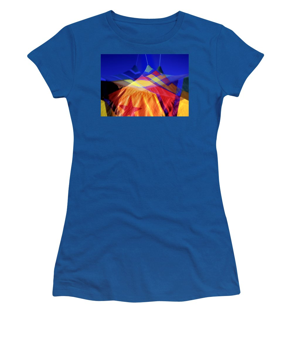 Tent Women's T-Shirt featuring the photograph Tent Of Dreams by Wayne Sherriff