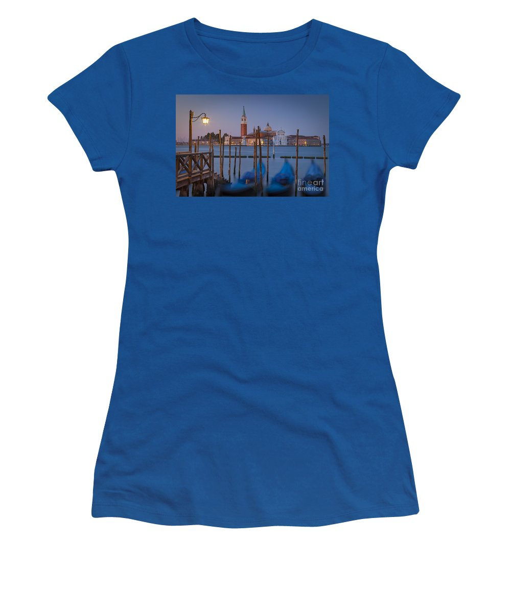 Attraction Women's T-Shirt featuring the photograph Venice Morning by Brian Jannsen