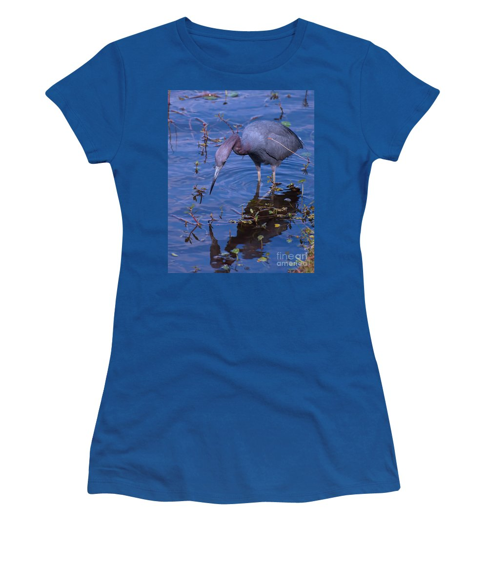 Little Women's T-Shirt featuring the photograph Who Are You by Photos By Cassandra