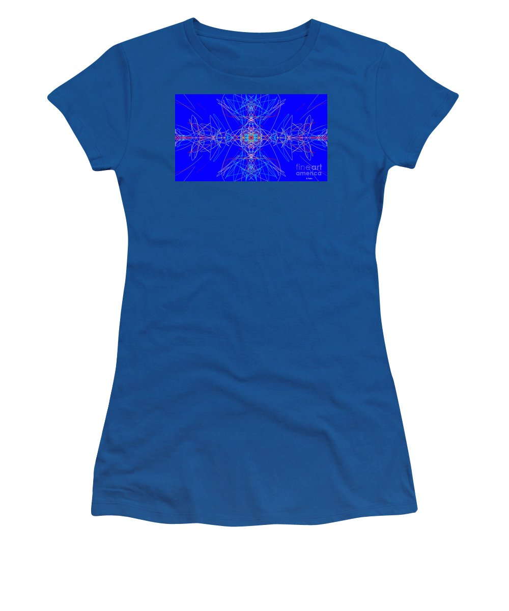 Fractal Women's T-Shirt featuring the digital art Cyclops by George Pedro