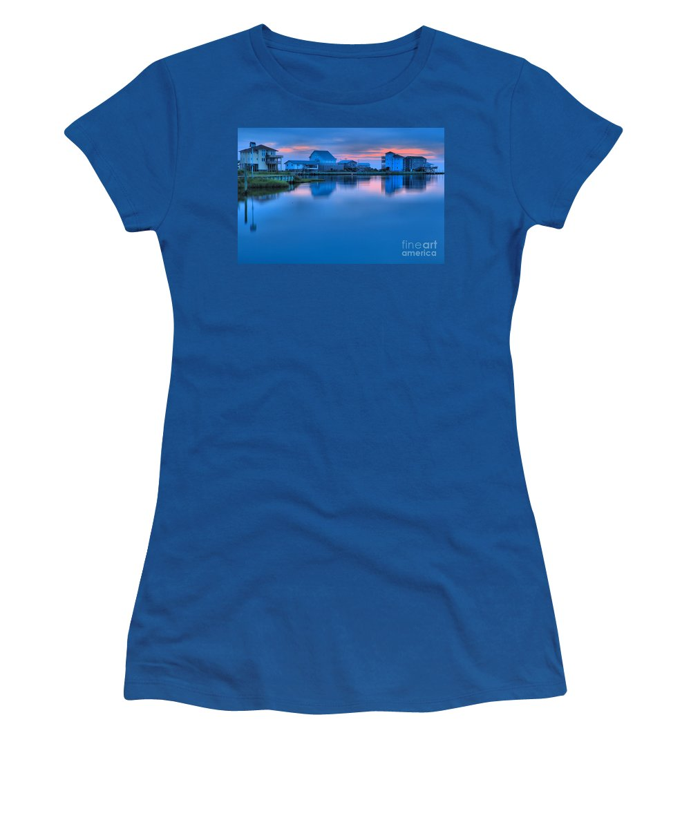 North Carolina Outer Banks Women's T-Shirt (Athletic Fit) featuring the photograph Highlights From The Sky by Adam Jewell