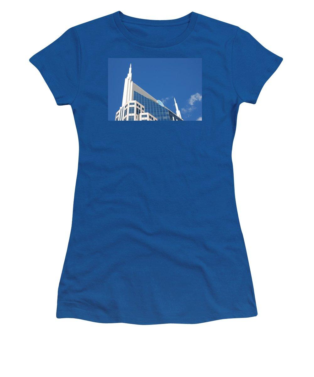 Nashville Women's T-Shirt featuring the photograph Na Na Na Batman by Sheri Bartoszek