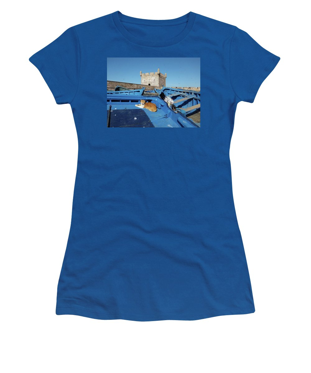Travel Women's T-Shirt featuring the photograph The Guardian 02 by Miki De Goodaboom