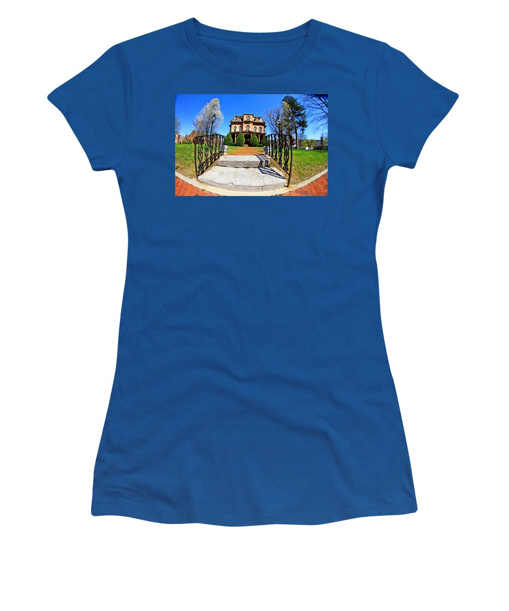 Buildings Women's T-Shirt featuring the photograph Building 2 by Karl Rose