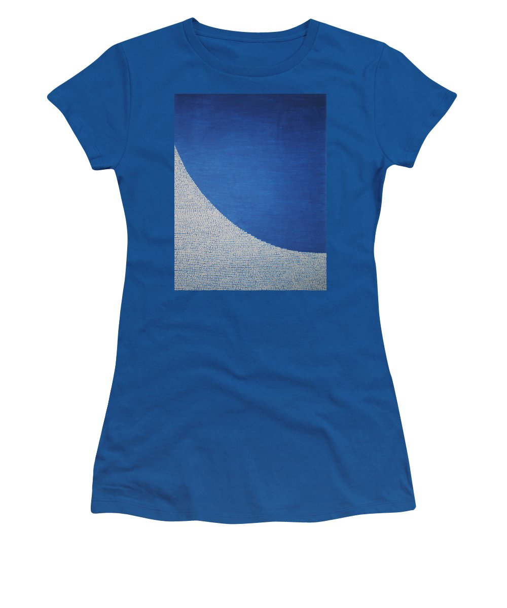 Inspirational Women's T-Shirt featuring the painting Perfect Existence by Kyung Hee Hogg