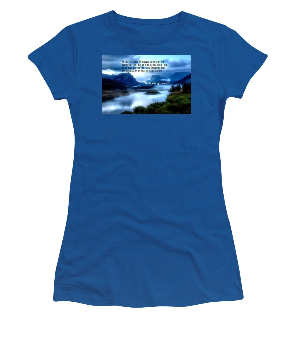 Women's T-Shirt featuring the photograph 2018-10q by David Norman