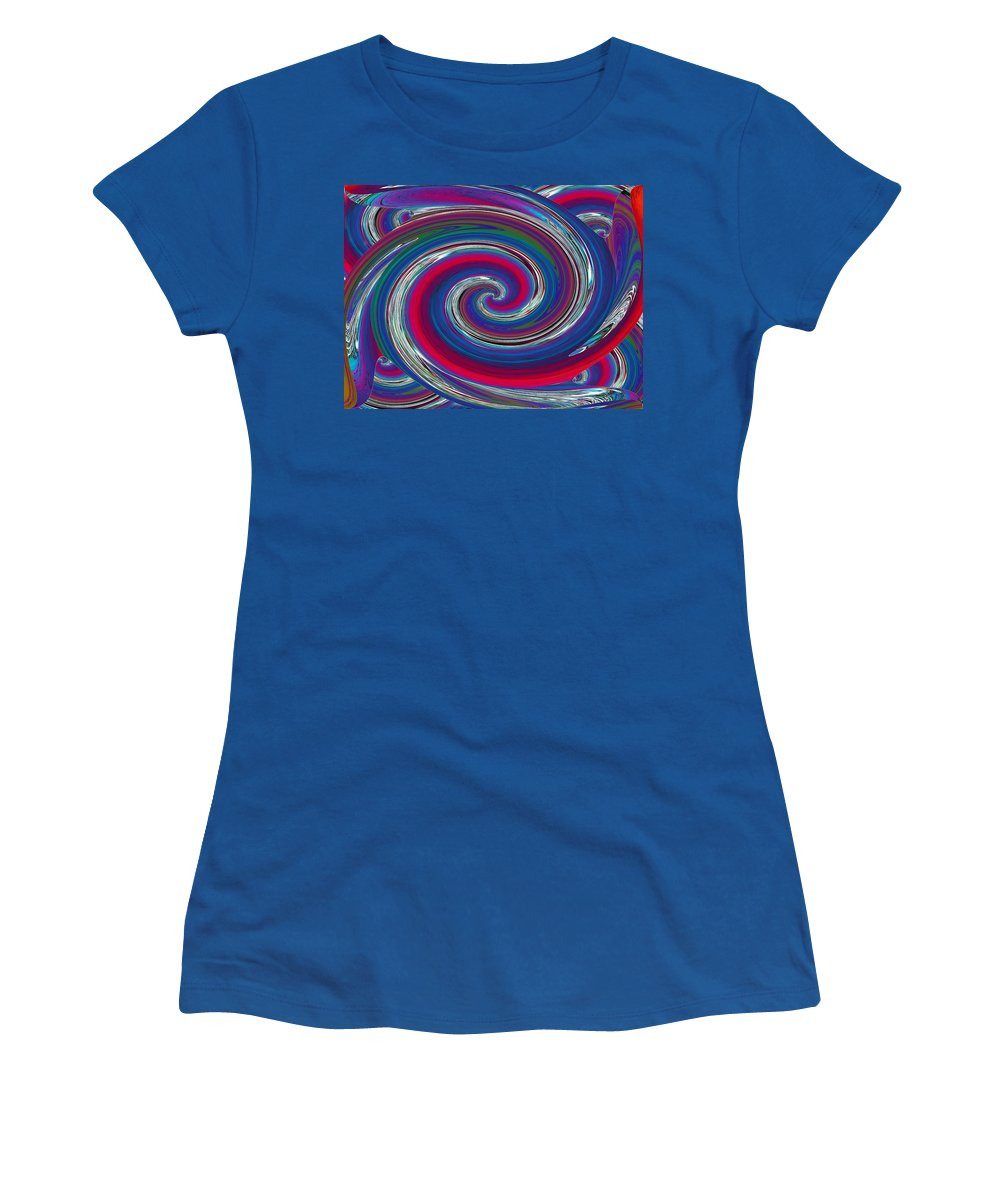 Abstract Women's T-Shirt featuring the photograph Abstract 7 by Tim Allen