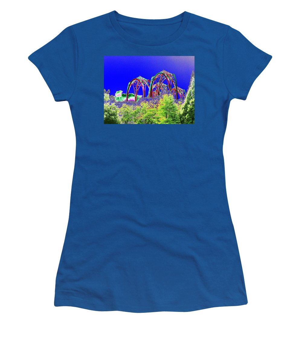 Seattle Women's T-Shirt featuring the photograph Arches 6 by Tim Allen