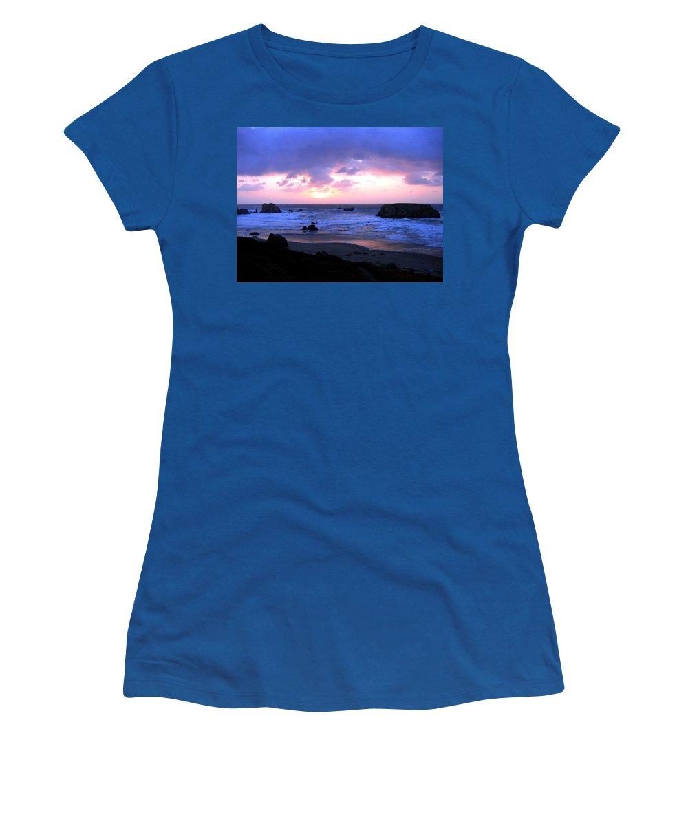 Bandon Women's T-Shirt featuring the photograph Bandon 27 by Will Borden
