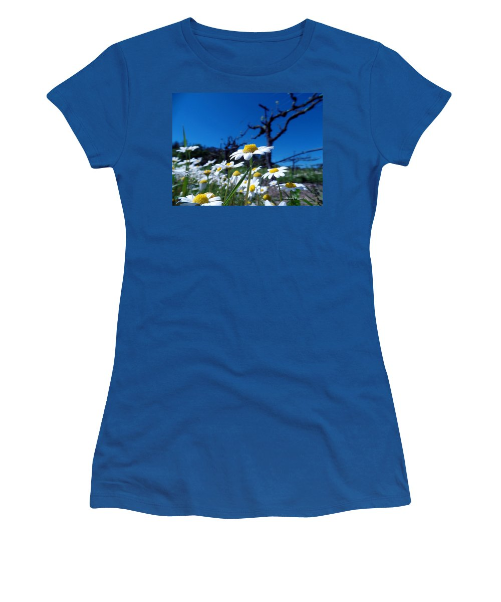 Women's T-Shirt (Athletic Fit) featuring the photograph Br0078 by Brandy Riggen