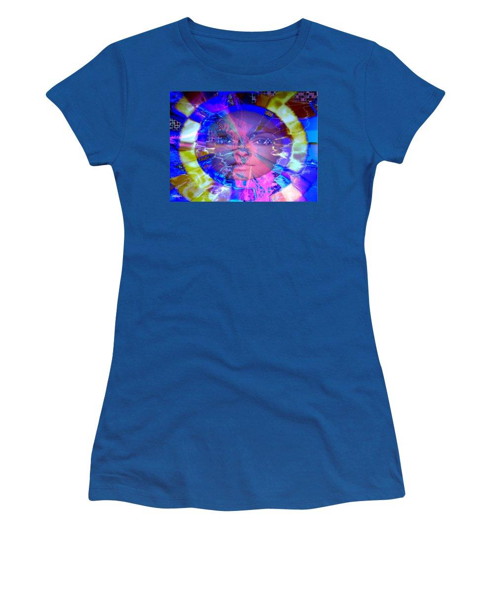 Congo Women's T-Shirt featuring the photograph Congo Queen Mandala by Seth Weaver