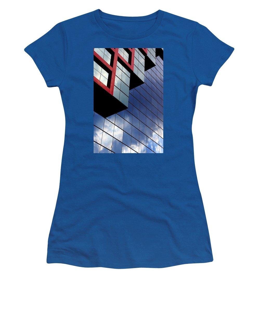 False Flag Women's T-Shirt featuring the photograph False Flag Df by Skip Hunt