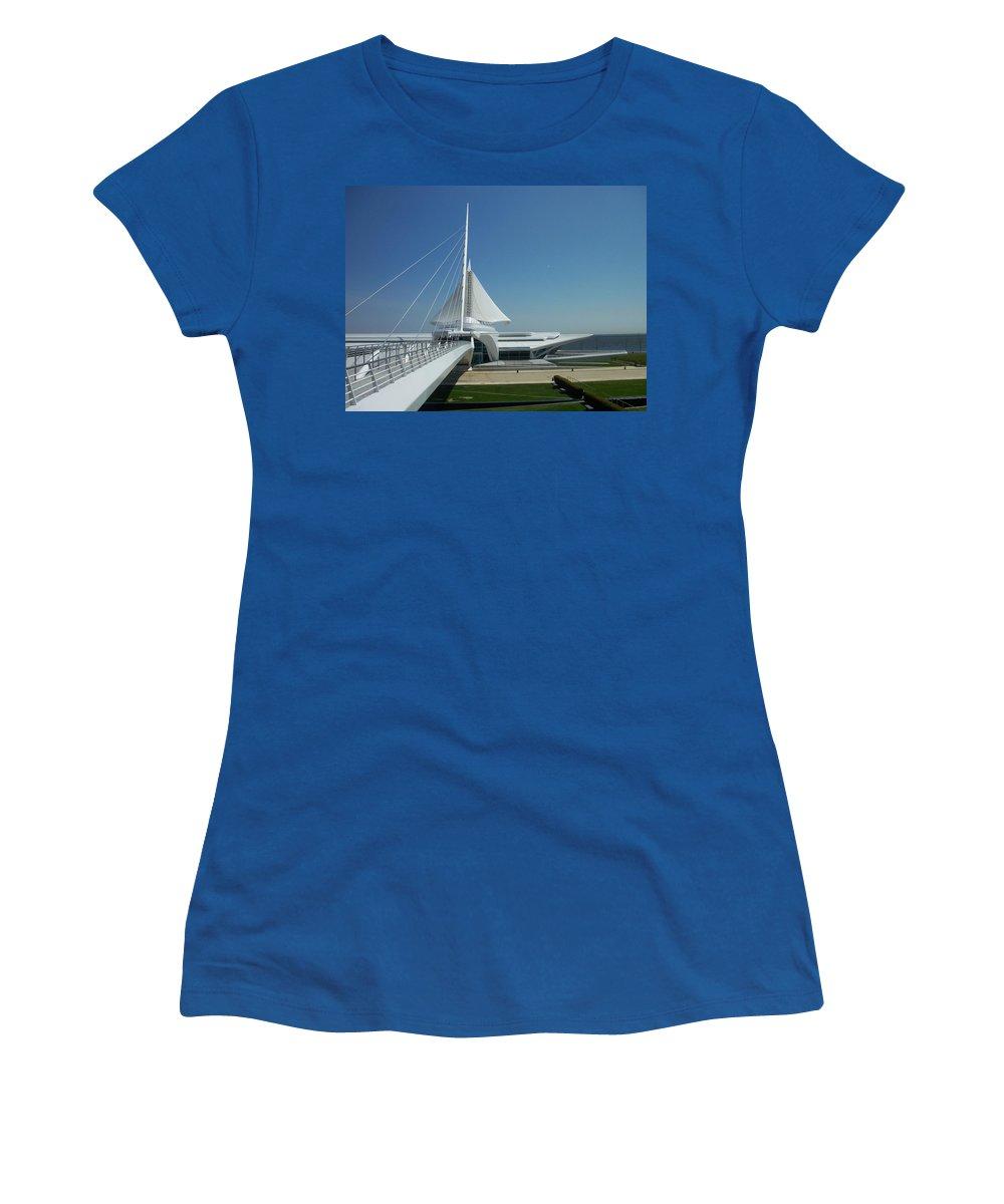 Mam Women's T-Shirt featuring the photograph Mam Series 1 by Anita Burgermeister