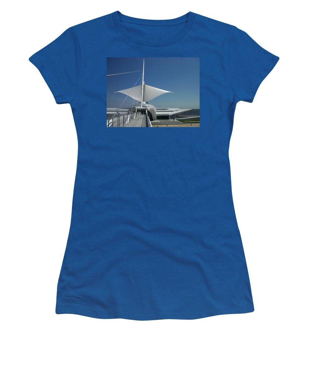 Mam Women's T-Shirt featuring the photograph Mam Series 3 by Anita Burgermeister