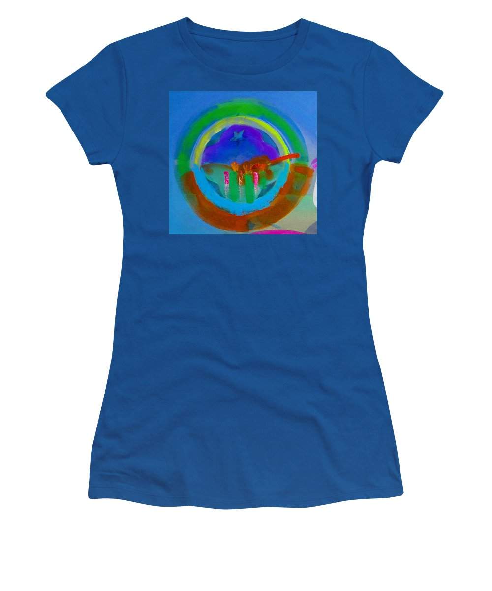 Love Women's T-Shirt (Athletic Fit) featuring the painting New World Spring by Charles Stuart