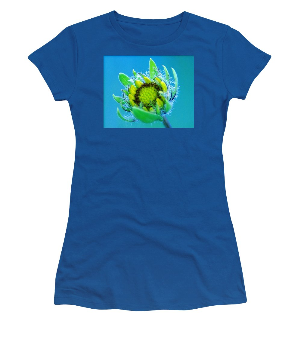 Flowers Women's T-Shirt featuring the photograph Open Mind And Open Heart by Ben Upham III