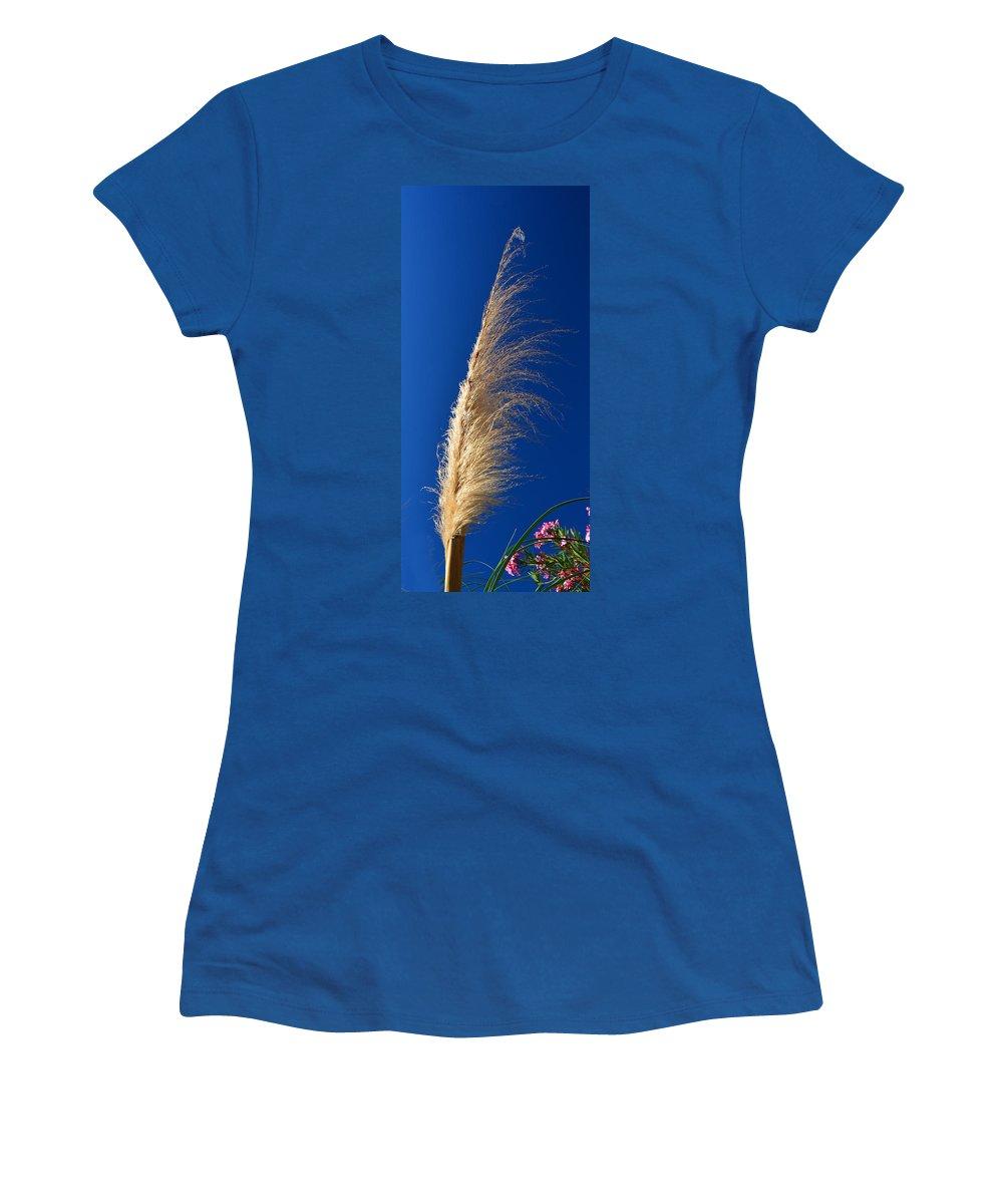 Pampas Grass Women's T-Shirt featuring the photograph Pampas by Josephine Buschman