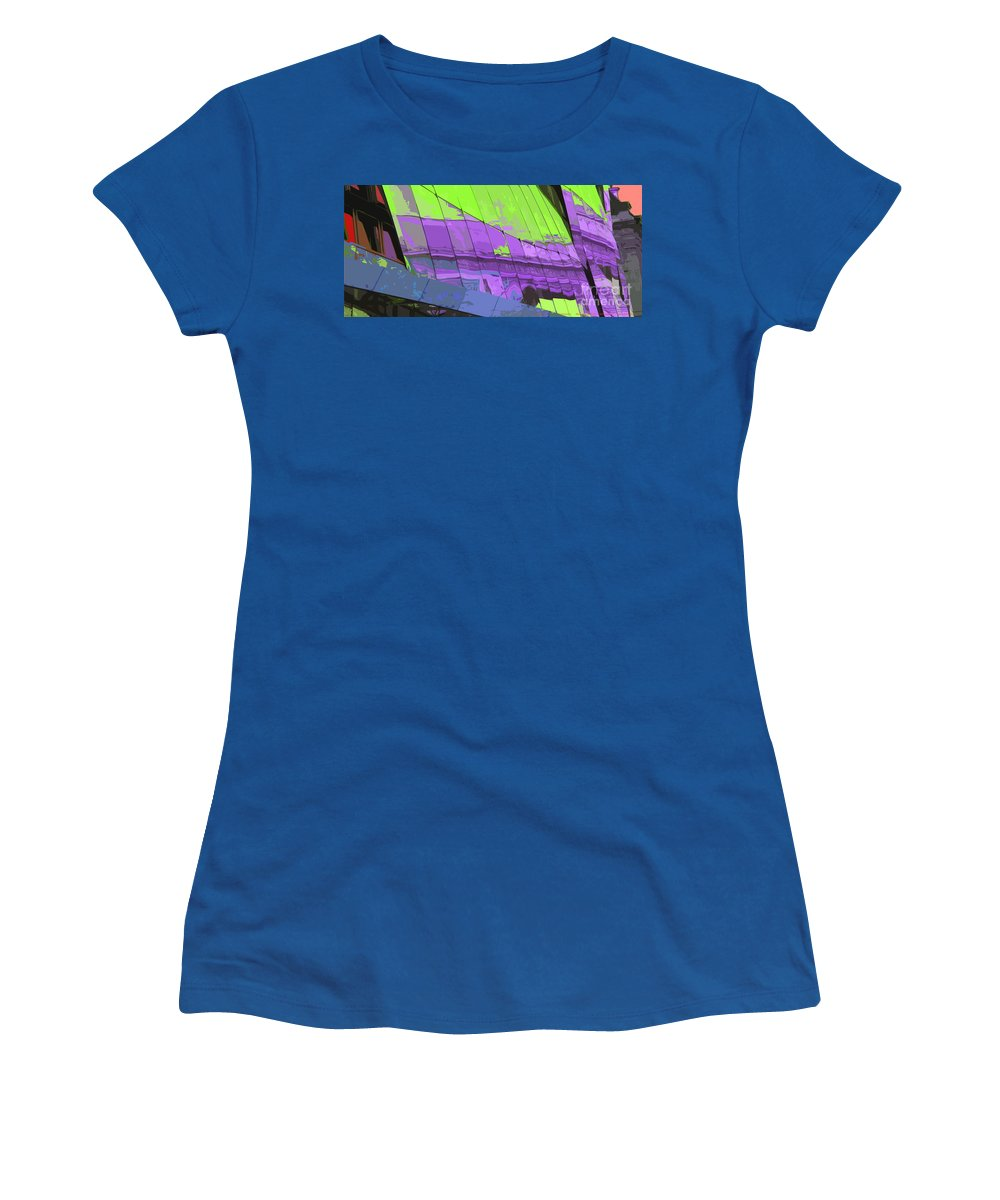 Paris Women's T-Shirt featuring the photograph Paris Arc De Triomphe by Yuriy Shevchuk