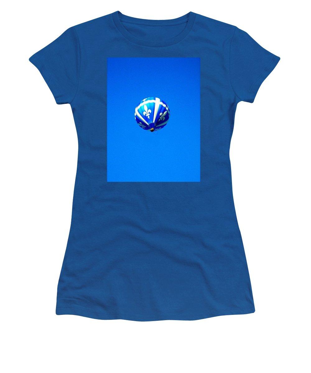 Hot Women's T-Shirt featuring the photograph Quebec ... by Juergen Weiss