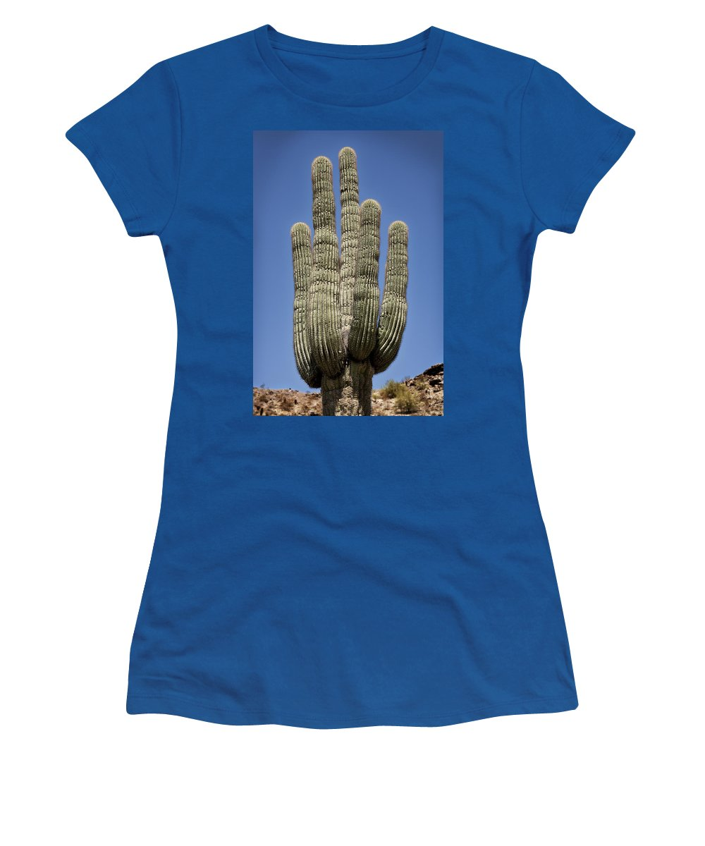 Saguaro Women's T-Shirt featuring the photograph Saguaro 2 by Kelley King