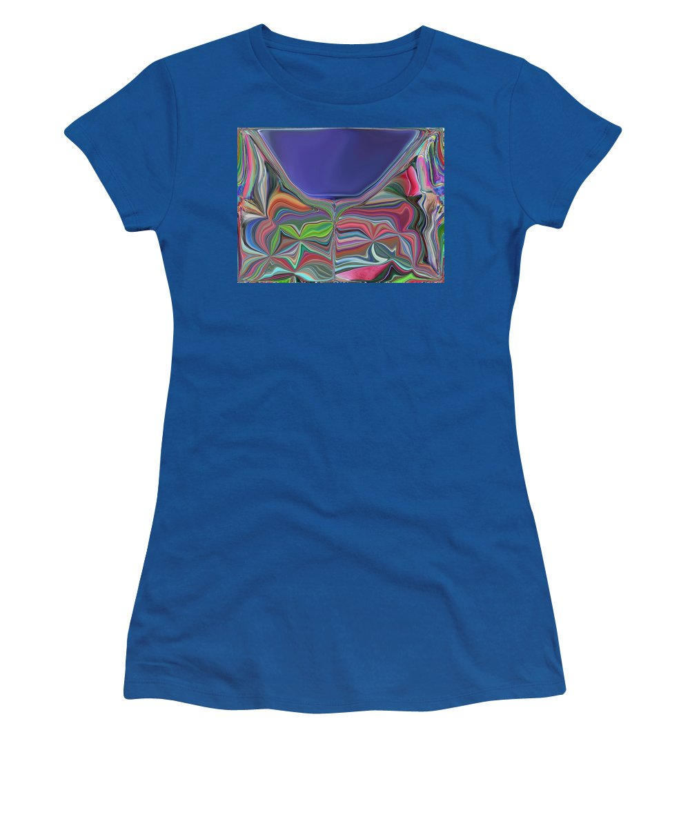 Chalice Women's T-Shirt featuring the digital art The Chalice by Tim Allen