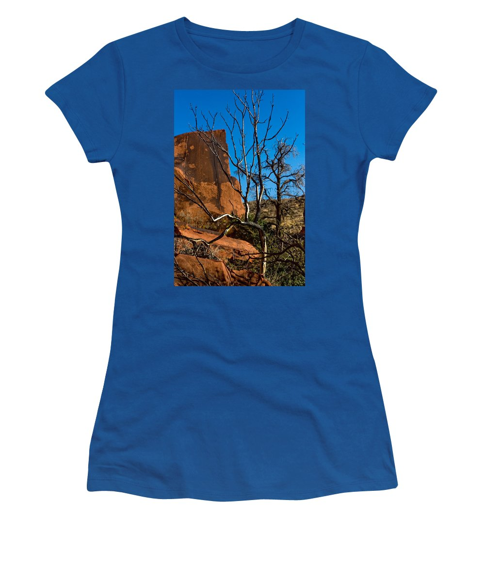 Tree Women's T-Shirt featuring the photograph To Be Green Again by Chris Brannen