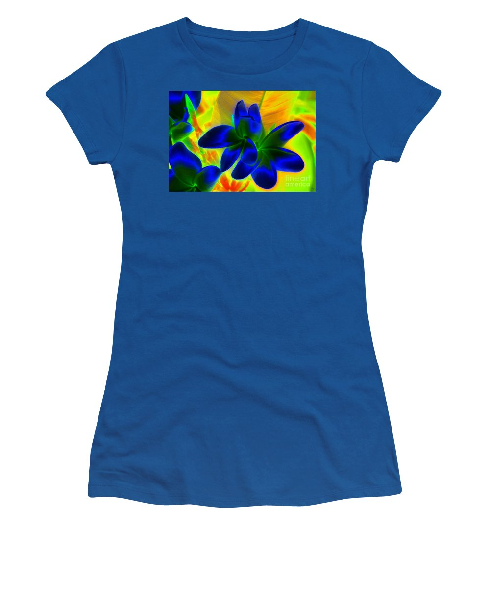 Ultraviolet Women's T-Shirt featuring the painting Ultraviolet by David Lee Thompson