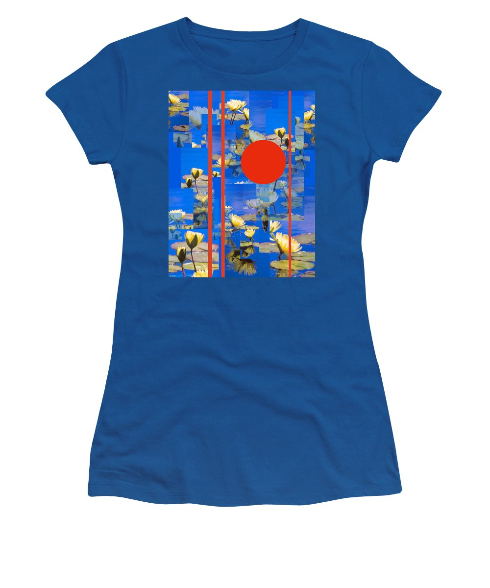 Flowers Women's T-Shirt (Athletic Fit) featuring the photograph Vertical Horizon by Steve Karol