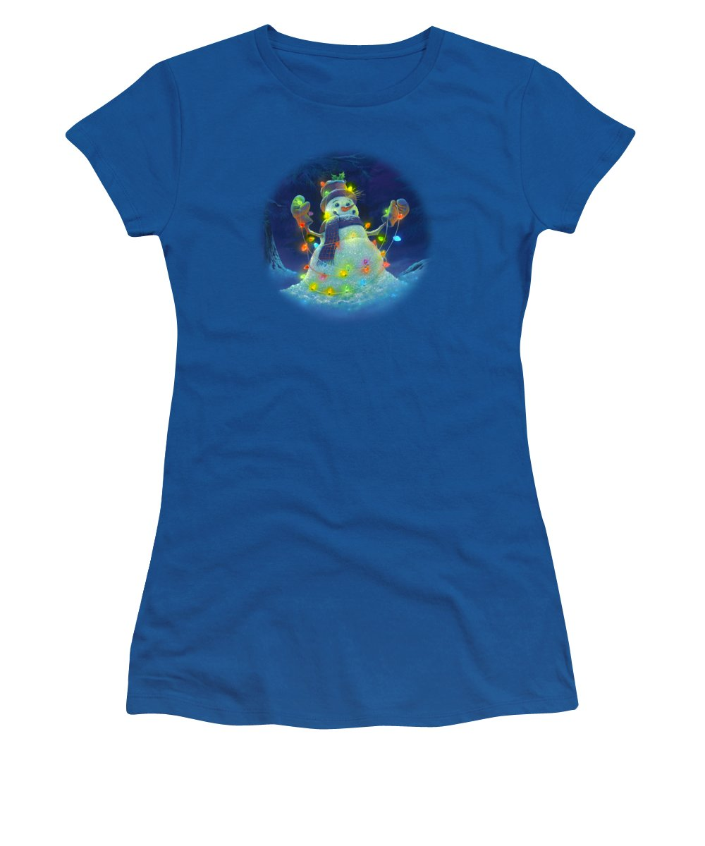 Shower Curtain Women's T-Shirts