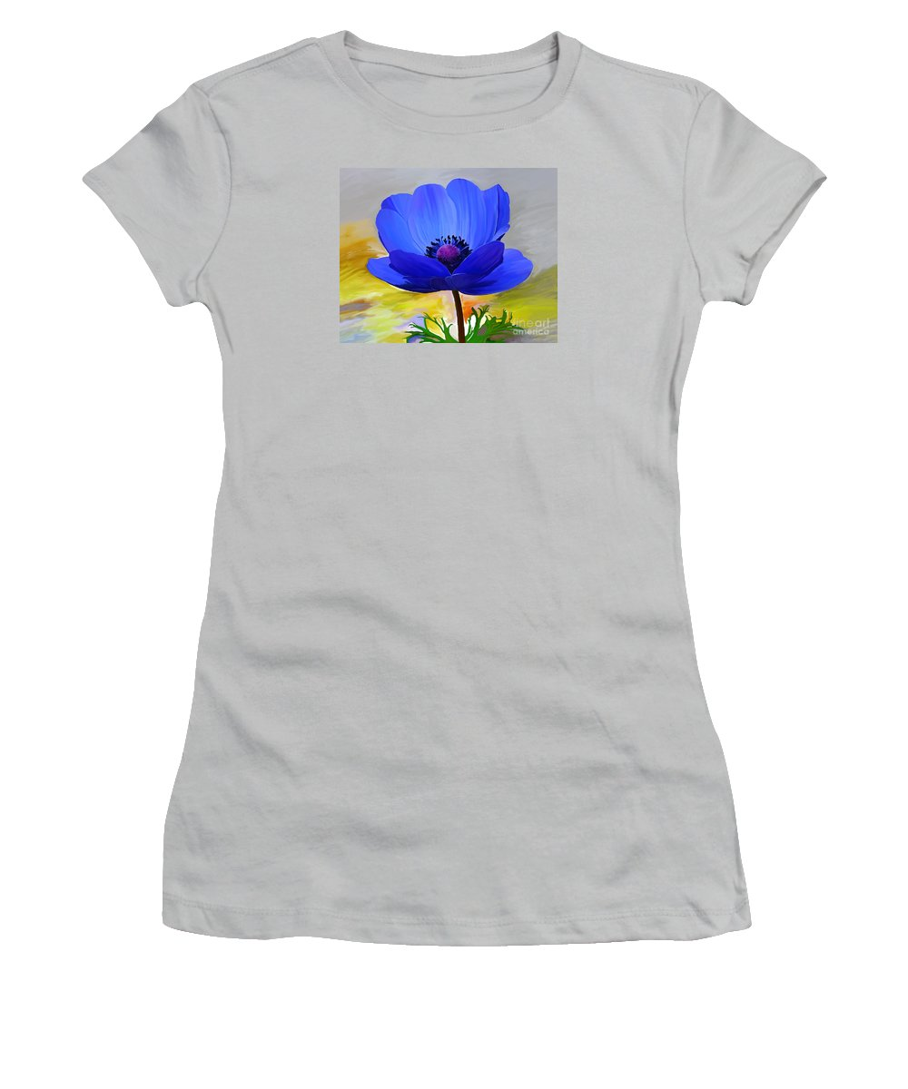 Fine Art Women's T-Shirt (Athletic Fit) featuring the painting Lord Lieutenant by Patricia Griffin Brett