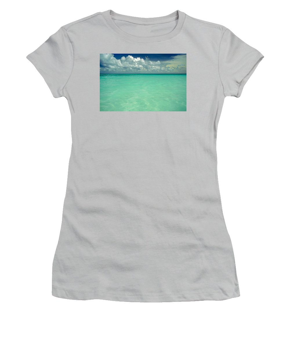 Belize Women's T-Shirt (Athletic Fit) featuring the photograph Heaven by Skip Hunt