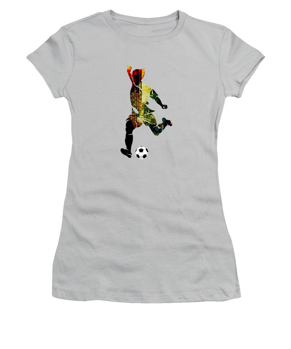 Soccer Women's T-Shirts