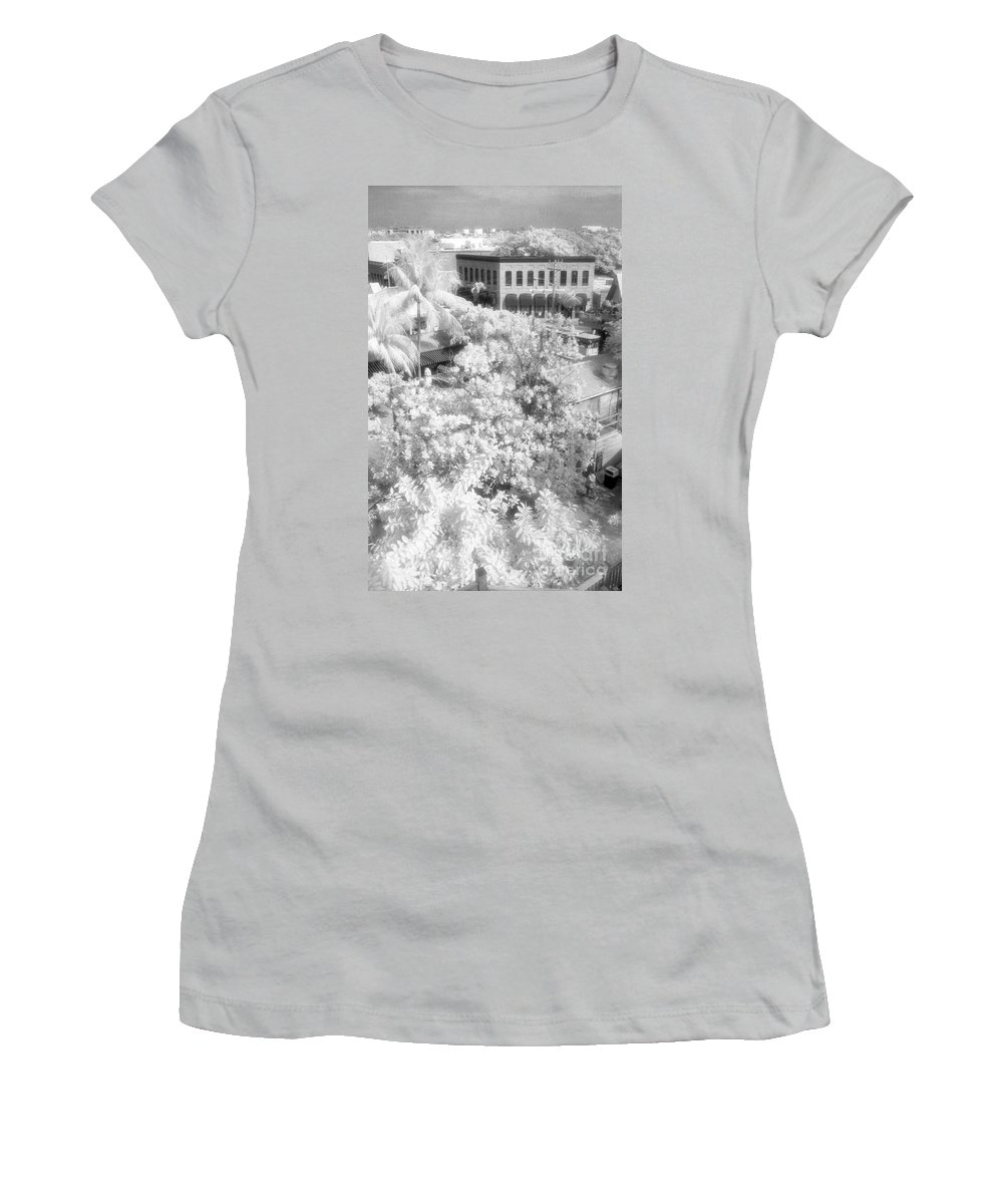 Key West Women's T-Shirt (Athletic Fit) featuring the photograph Another View by Richard Rizzo