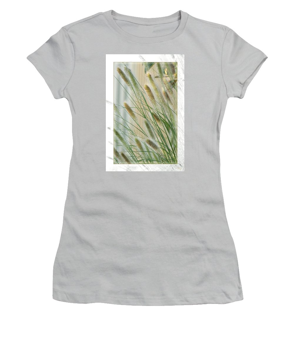 Floral Women's T-Shirt (Athletic Fit) featuring the photograph Breeze by Holly Kempe