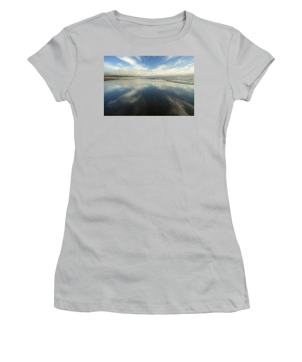 Cirrus Women's T-Shirt (Athletic Fit) featuring the photograph California Cirrus Explosion by Mike Dawson