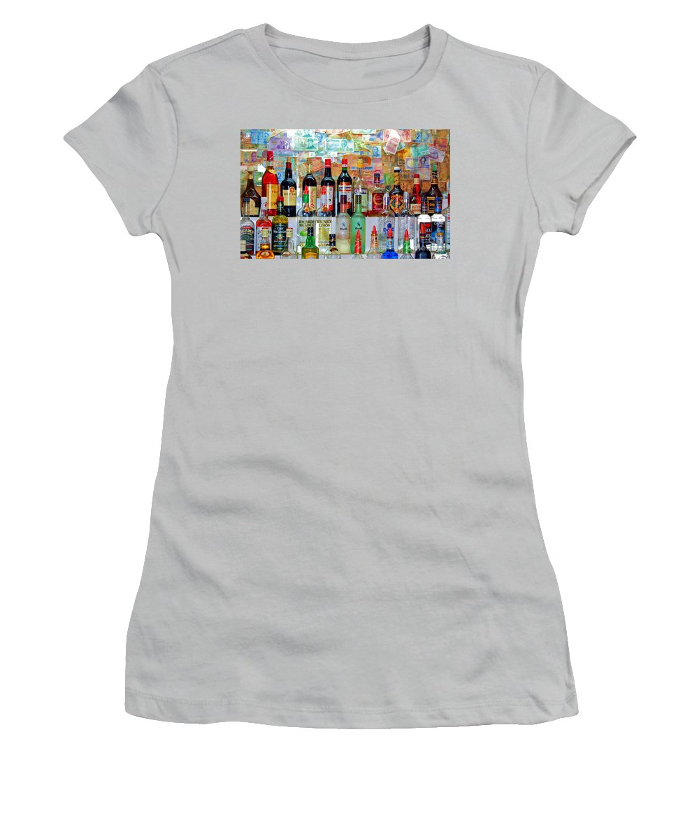 Liquor Women's T-Shirt (Athletic Fit) featuring the photograph Don Q by Debbi Granruth