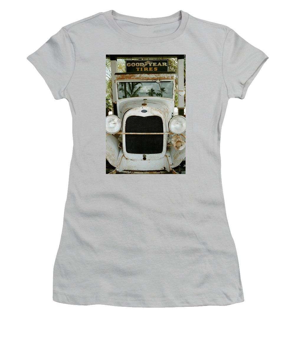 Everglade City Women's T-Shirt (Athletic Fit) featuring the photograph Everglade City IIi by Flavia Westerwelle