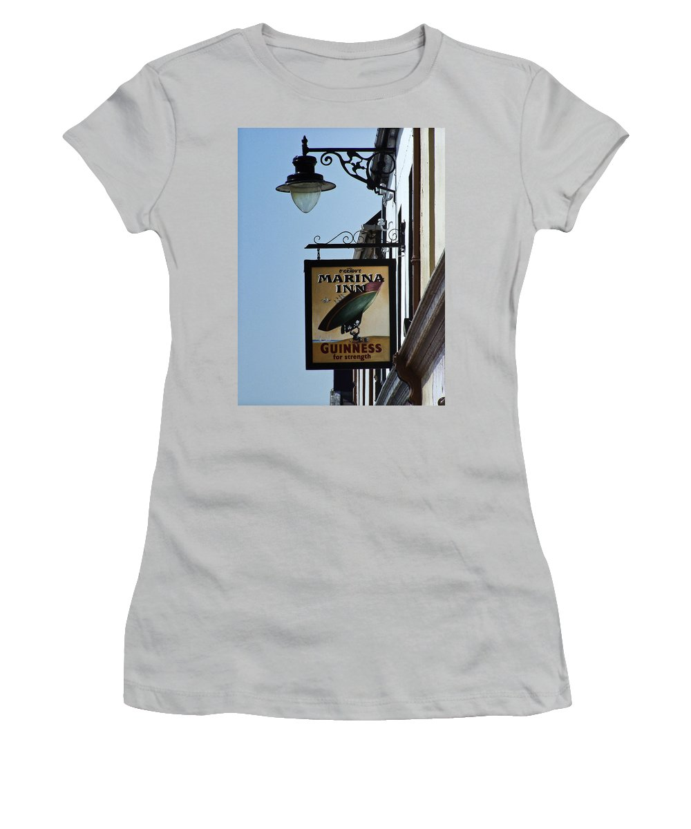 Irish Women's T-Shirt (Athletic Fit) featuring the photograph Guinness For Strength Dingle Ireland by Teresa Mucha