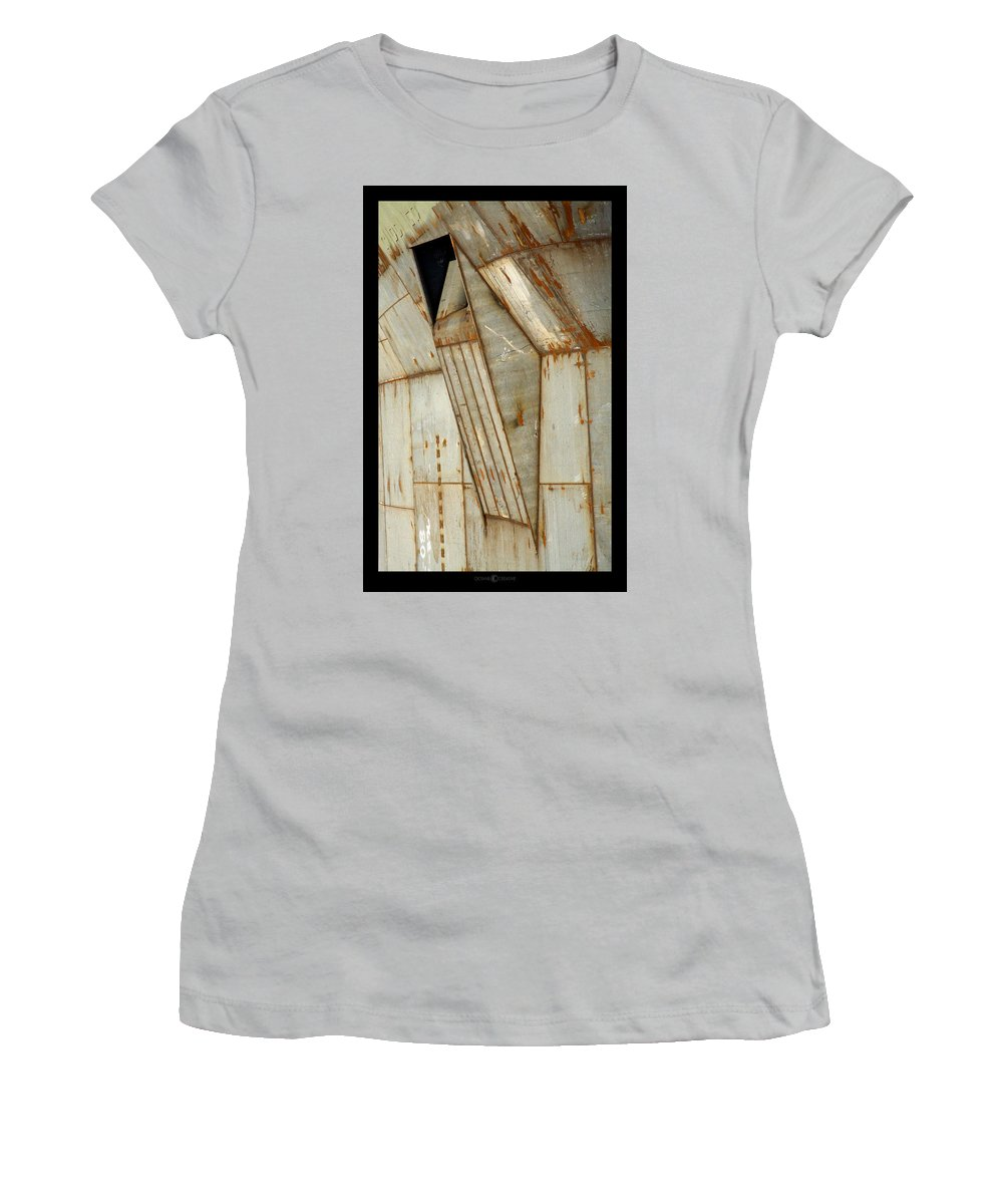 Hull Women's T-Shirt (Athletic Fit) featuring the photograph Hull Detail by Tim Nyberg