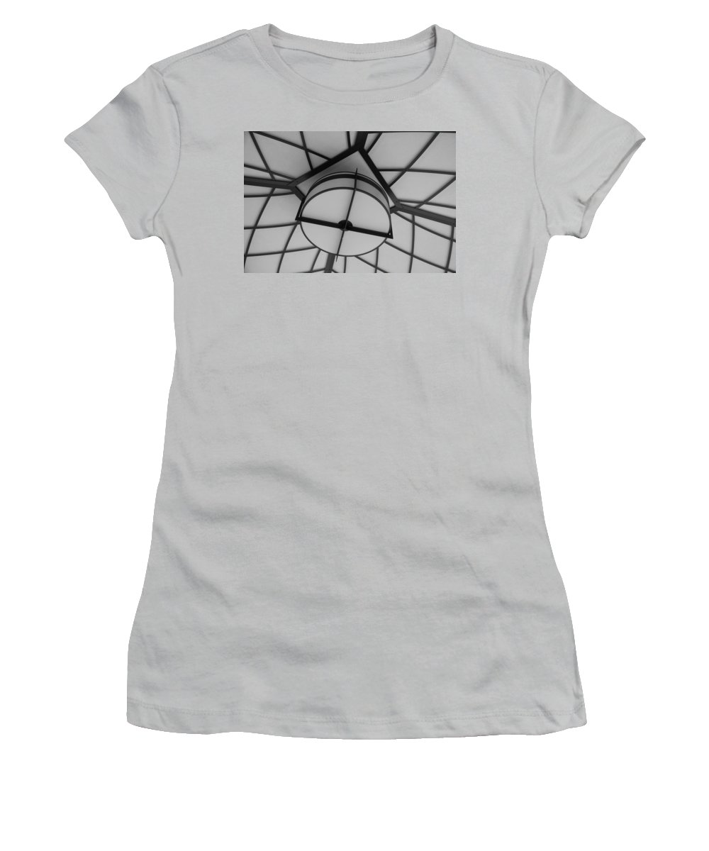 Architecture Women's T-Shirt (Athletic Fit) featuring the photograph Lighted Box by Rob Hans