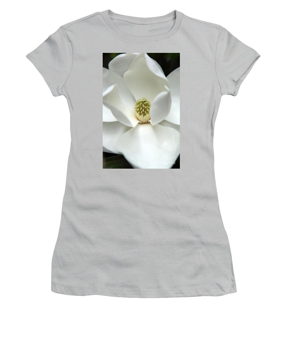 Magnolia Women's T-Shirt (Athletic Fit) featuring the photograph Mysteriously by Amanda Barcon