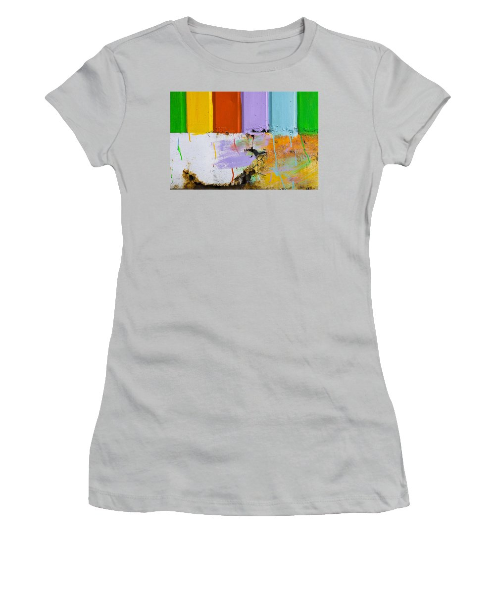 Skip Hunt Women's T-Shirt (Athletic Fit) featuring the photograph Once Upon A Circus by Skip Hunt