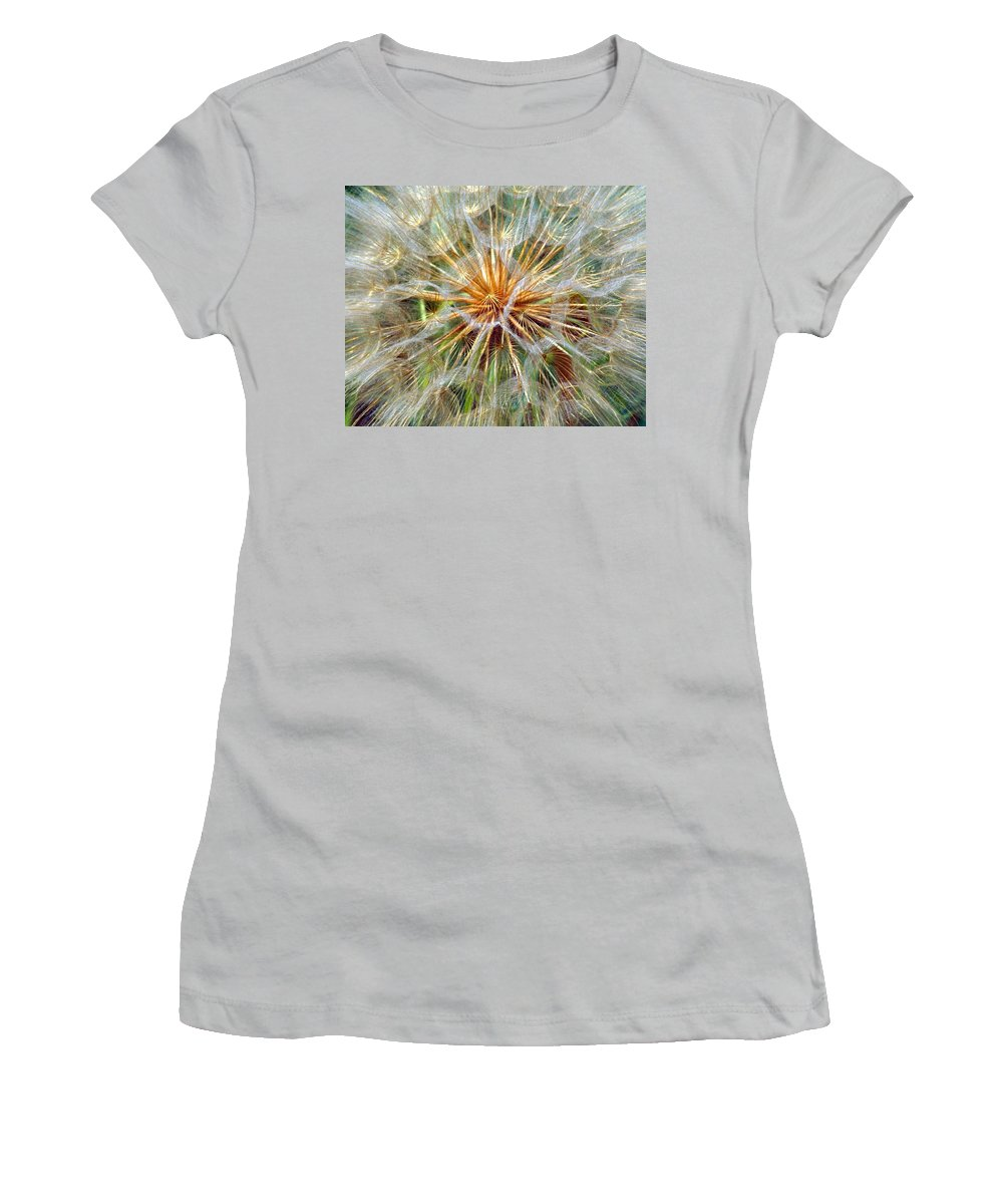 Wildflower Women's T-Shirt (Athletic Fit) featuring the photograph Seeds by Marty Koch