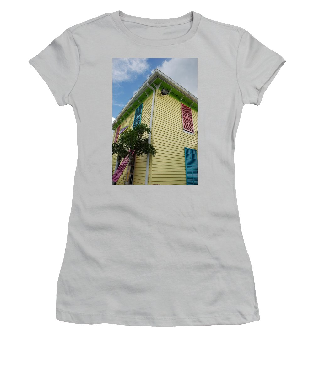 Architecture Women's T-Shirt (Athletic Fit) featuring the photograph The Beach House by Rob Hans