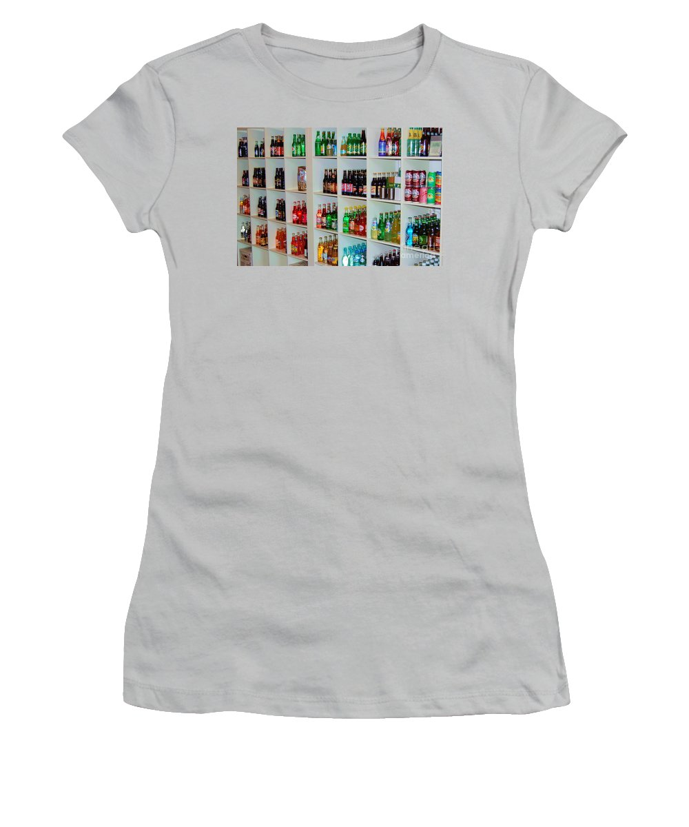 Soda Women's T-Shirt (Athletic Fit) featuring the photograph The Soda Gallery by Debbi Granruth