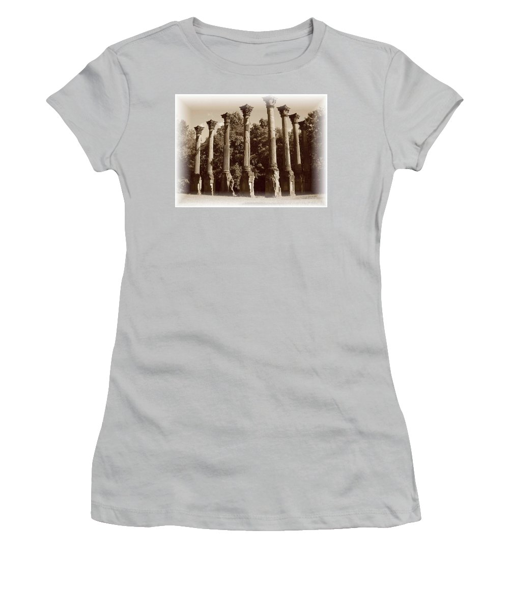 Windsor Women's T-Shirt (Athletic Fit) featuring the photograph Windsor 2 by Nelson Strong