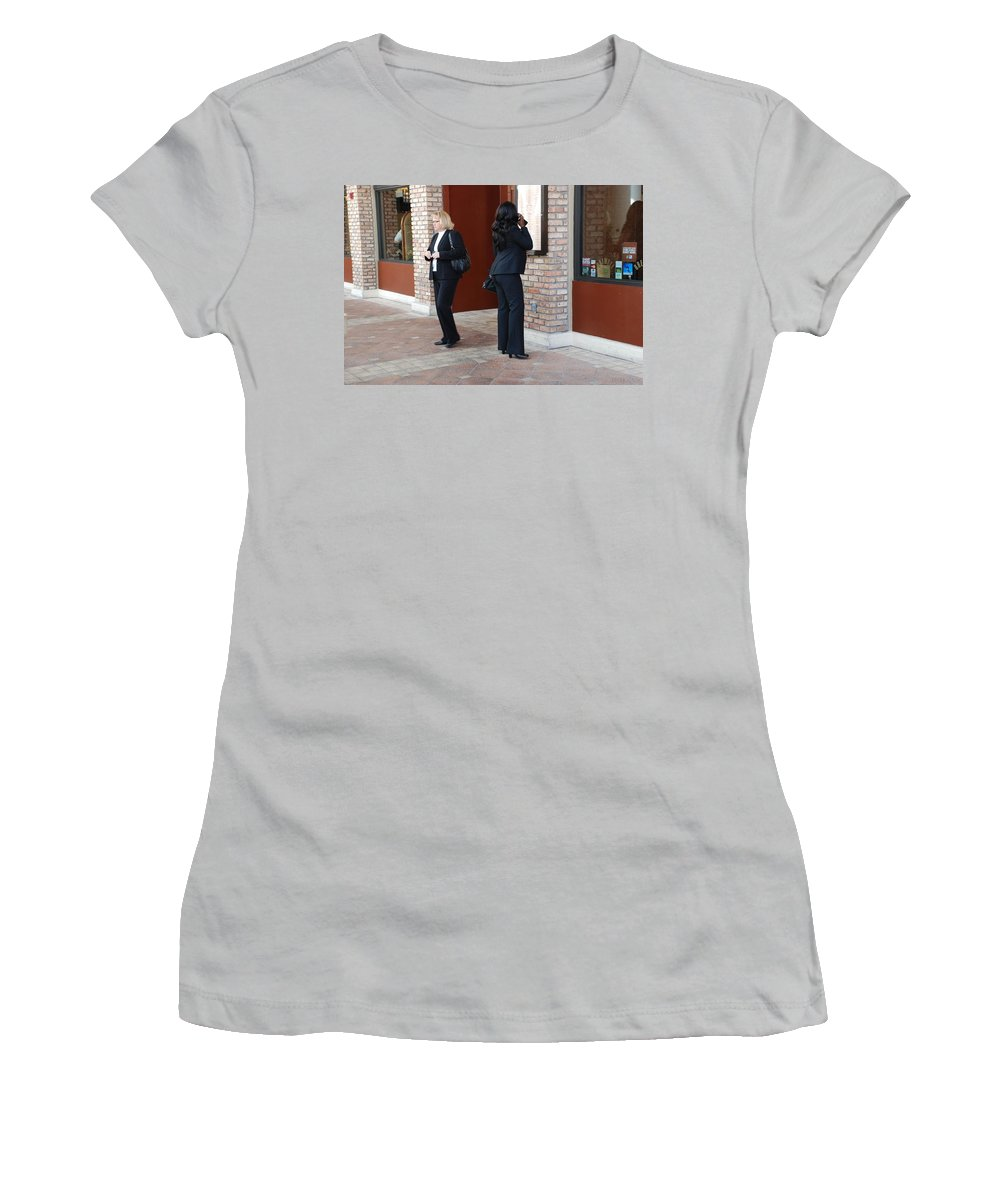 Girls Women's T-Shirt (Athletic Fit) featuring the photograph Ying Yang by Rob Hans
