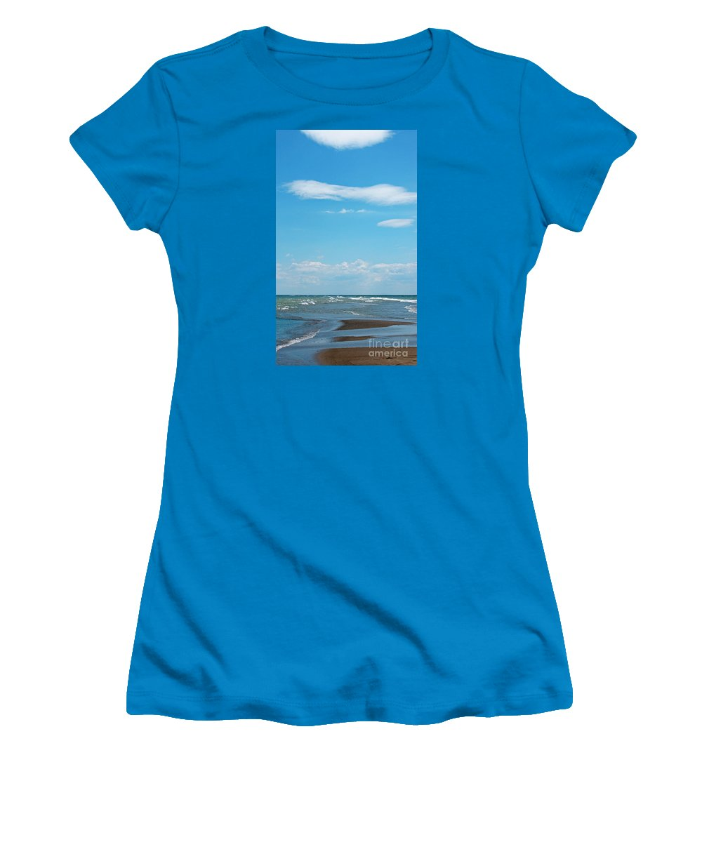 Canada Women's T-Shirt (Athletic Fit) featuring the photograph Pelee by Ann Horn