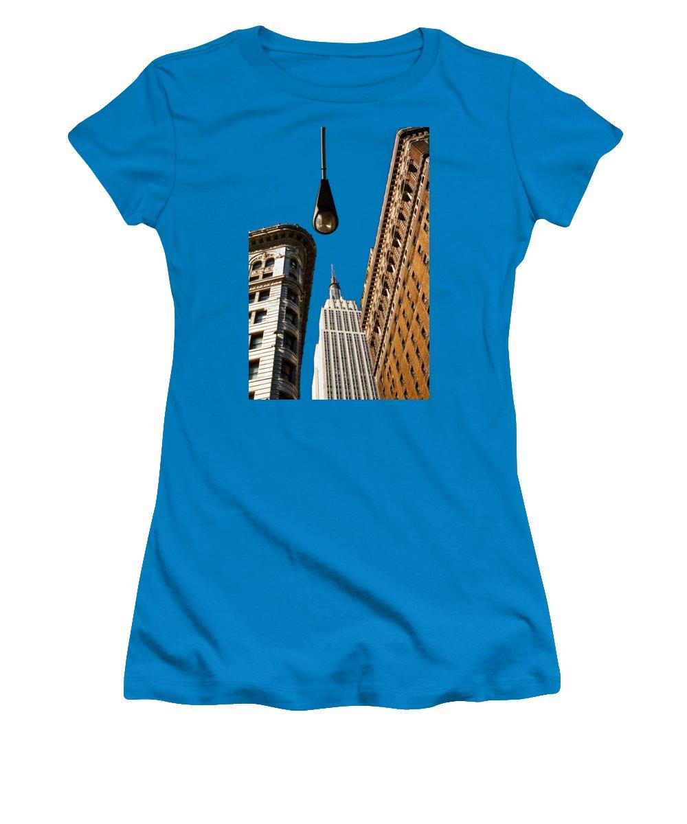 New York City Skyline Junior T-Shirts